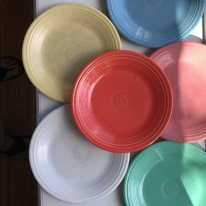 Fiestaware dinner plates